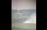 Бойцы ВСУ уничтожили вражескую технику (видео)