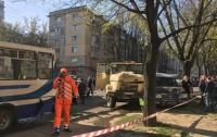 ДТП в Днепре: грузовик протаранил семь авто и три автобуса