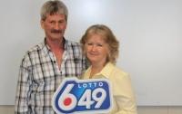 В Канаде семейная пара в третий раз выиграла в лотерею, сорвав джекпот