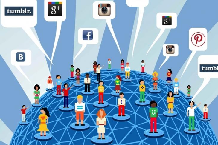 Самые популярные социальные сети в России 2016