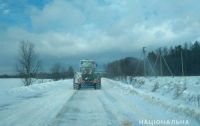 Перекрыты дороги в одной из областей Украины