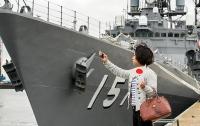 В Японии группой боевых кораблей впервые стала командовать женщина