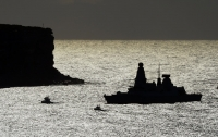 Поломка винта сорвала миссию британского эсминца