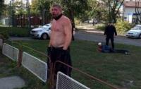 В Киеве возле спорткомплекса произошла резня со стрельбой
