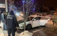 Мэра Полтавы обвиняют в поджоге автомобиля депутата (видео)