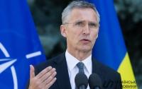 Столтенберг открыл новый офис представительства НАТО в Киеве