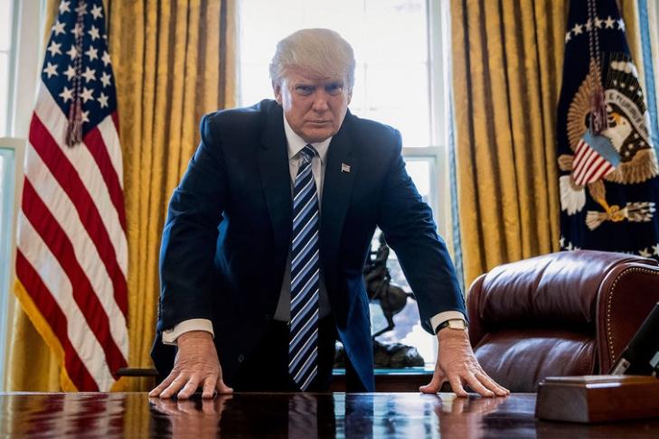Президент США Дональд Трамп сделал объявление отайном сговоре
