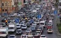 В Киеве теперь легче ездить на авто из-за карантина