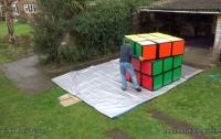 Британец объявил о создании самого большого кубика Рубика