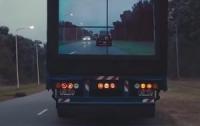 Снизить аварийность на дорогах помогут большие мониторы (ВИДЕО)