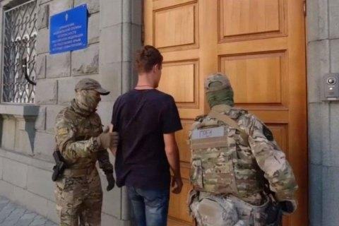 Силовики оккупантов в Крыму задержали молодого одессита
