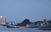 Военный корабль НАТО протаранил танкер в Норвегии