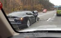 Под Киевом произошло масштабное ДТП
