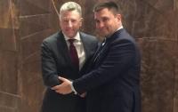 Климкин встретился с Волкером: что обсуждали