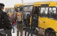 В Киеве водитель маршрутки жестко избил пассажира