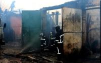 Складское помещение горело в Одессе
