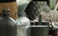 Бойцам ВСУ поменяют фляги с водой (видео)