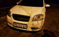 Пьяная женщина за рулем въехала в бильярдный клуб в Харькове