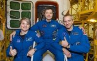 Новый экипаж МКС успешно прибыл на станцию