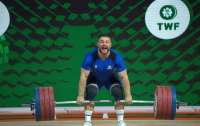Украинский тяжелоатлет дважды победил на чемпионате Европы в Москве