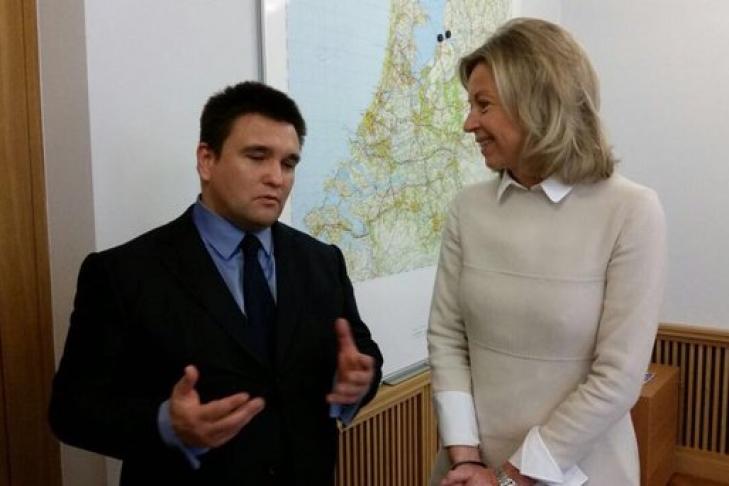 Климкин обсудил сглавой МВД Нидерландов «противодействие русской пропаганде»