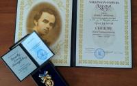 Сенцову вручили Шевченковскую премию