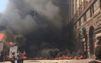 Дым, выстрелы - Майдан разгоняют!