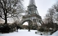 Во Францию опасно ехать из-за погоды