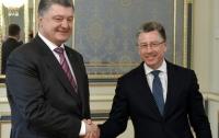Стало известно о чем говорили Порошенко и Волкер