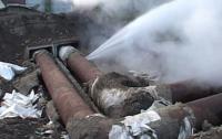В Киеве начался «сезон прорывов» в коммунальных сетях