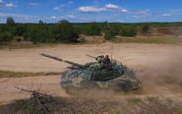 Появилось видео испытаний обновленного украинского танка Т-72