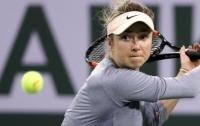Лучшая теннисистка Украины рассказала о необычном происшествии