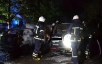 На Волыни сожгли автомобиль известного волонтера
