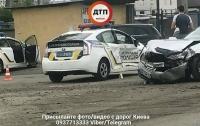 В Киеве полицейские попали в серьезное ДТП