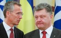 Порошенко и Столтенберг обсудили взаимодействие с НАТО