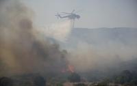 В Греции вспыхнули лесные пожары, туристов массово эвакуировали (видео)