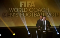 Испанец Луис Энрике признан лучшим тренером 2015 года
