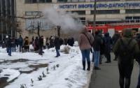 Огромный киевский университет оказался не готов к пожару