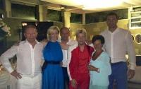 Кличко и Басков погуляли на дне рождение Кучмы (ФОТО)