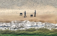 Иностранным любителям фотографий очень понравился одесский пляж