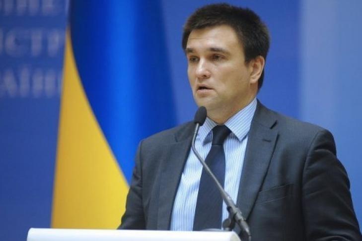 Климкин: МИД готовит предложения повведению визового режима сРоссией