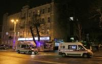 В центре Киева девушка упала с крыши дома