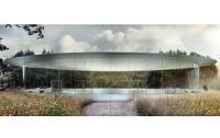 Дрон заснял гигантскую стройку офисного центра Apple (ВИДЕО)