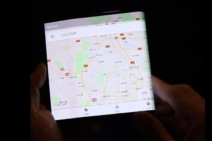 Складной Xiaomi с гибким экраном засняли на видео