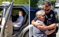 Дочь подстроила арест 93-летней матери в честь дня рождения