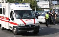 В столичной школе дети попали в больницу после игры с огнетушителем