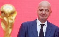 Инфантино был переизбран на пост президента ФИФА