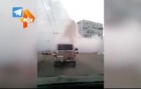 Пар столбом: в Кемерово произошло новое серьезное ЧП (видео)