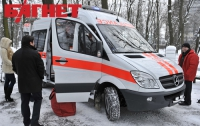 В Киеве создали «летучие» парковки «скорой помощи»