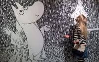 В аэропорту Хельсинки открылась выставка Музея муми-троллей